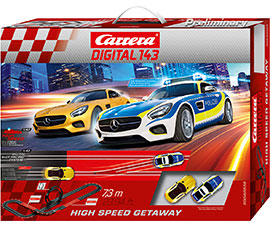 Digital 143 High Speed Getaway / Carrera