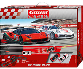 Digital 143 GT Race Club / Carrera