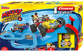 First - Mickey and the Roadster Racers / Carrera
