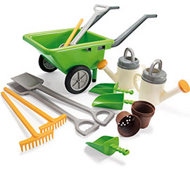 Green Garden Set / First Tools