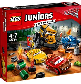 Juniors Crazy 8 Rennen in Thunder Hollow / Lego
