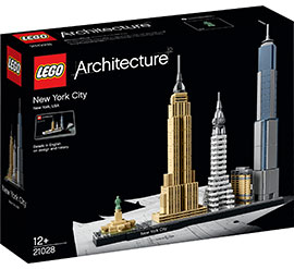 Architecture New York City / Lego