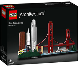 Architecture San Francisco / Lego
