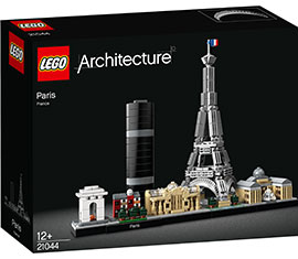Architecture Paris / Lego