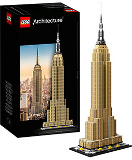 Architecture Empire State Building / Lego