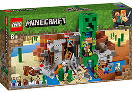 Minecraft Die Creeper Mine / Lego