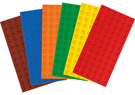 BIG BRICKS-Bauplatten Set Basic / Lego education