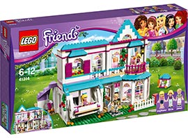Friends Stephanies Haus / Lego