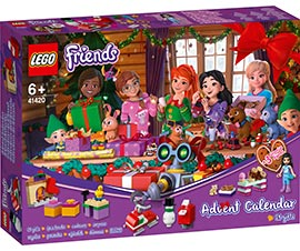 Friends - Adventskalender / Lego