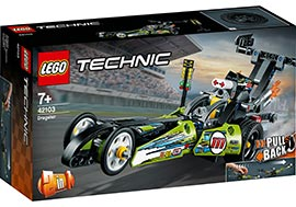 Technic Dragster Rennauto / Lego