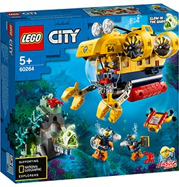 City Meeresforschungs-U-Boot / Lego