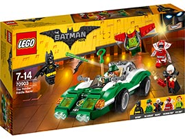 Batman Movie The Riddler: Riddle Racer / Lego