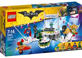 Superman The Justice League Anniversary Party / Lego