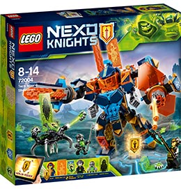 Nexo Knights Clays Tech-Mech / Lego
