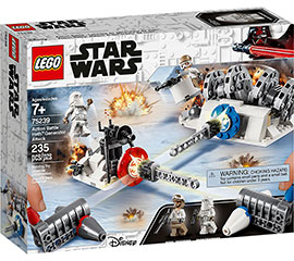 Star Wars Action Battle Hoth Generator-Attacke / Lego