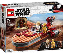 Star Wars Luke Skywalkers Landspeeder / Lego