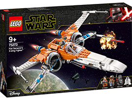 Star Wars Poe Damerons X-Wing Starfighter / Lego
