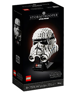 Star Wars Stormtrooper Helm / Lego