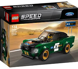 Speed Champions 1968 Ford Mustang Fastback / Lego