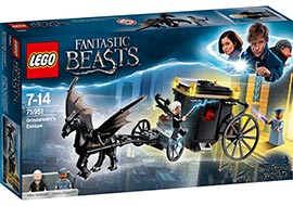 Harry Potter - Grindelwalds Flucht / Lego