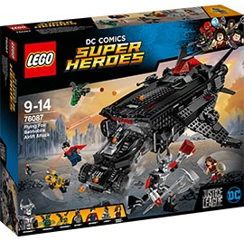 Flying Fox: Batmobil-Attacke aus der Luft / Lego