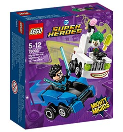 Mighty Micros: Nightwing vs. The Joker / Lego