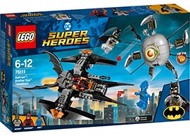 Super Heroes - Batman: Brother Eye Gefangennahme / Lego