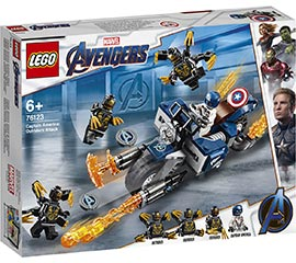 Super Heroes Captain America: Outrider-Attacke / Lego