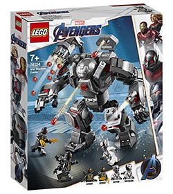 Super Heroes War Machine Buster / Lego