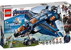 Super Heroes Ultimativer Avengers-Quinjet / Lego