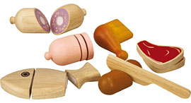 Fleisch-Set / PlanToys