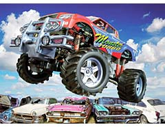 300 Teile Monstertruck / Ravensburger