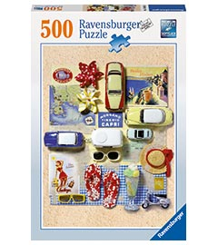 500 Teile Puzzle Sommer in Italien / Ravensburger