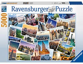 5000 Teile Puzzle New York - the City never sleeps / Ravensburger