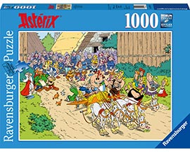 1000 Teile Puzzle Asterix in Italien / Ravensburger
